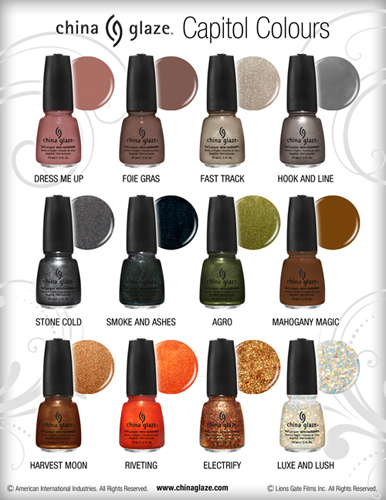 China Glaze Hunger Games Spring 2012 2