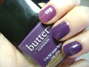 Butter London Marrow Swatch