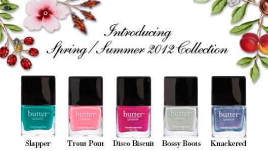 Butter London Spring Summer 2012