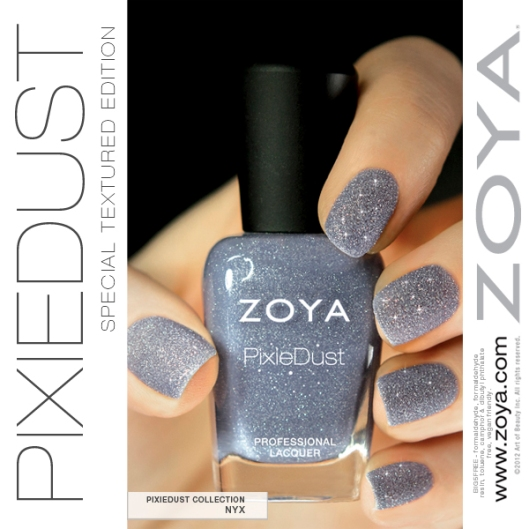 zoya pixiedust spring 2013