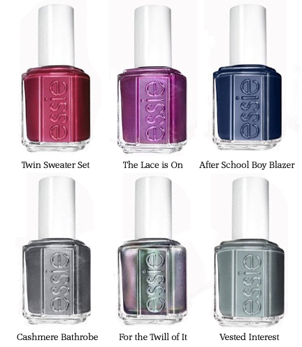 Essie for the twill of it Fall 2013