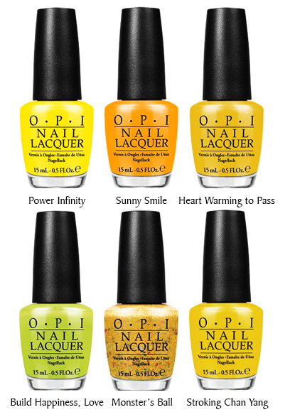 OPI Toscana Collection Summer 2015 Asia Exclusive