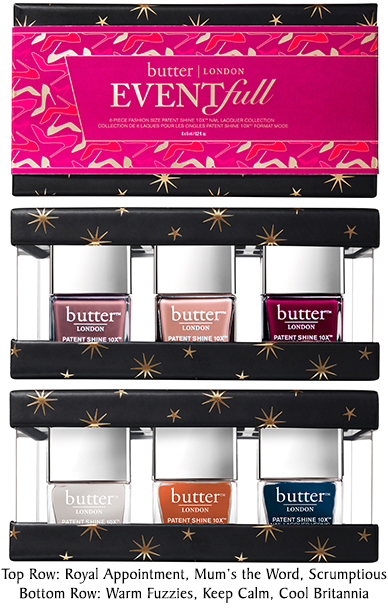 Butter London Holiday Collection – Holiday 2016